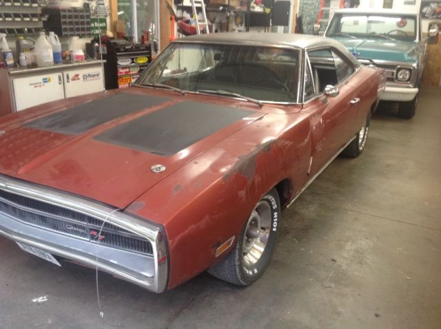 1970 70 dodge charger r t 4 speed dana 60 great running driving project car for sale photos. Black Bedroom Furniture Sets. Home Design Ideas