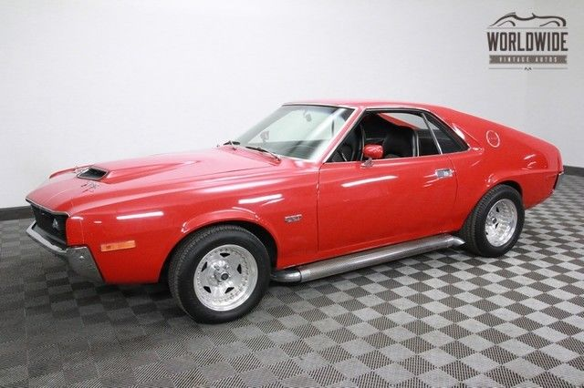 1970 AMC AMX Restored Hot Rod! 390 Big Block! 4 Speed!