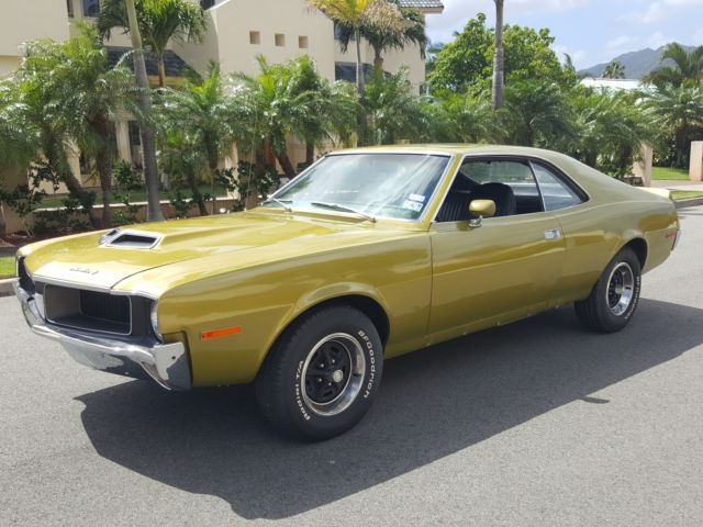 1970 AMC AMX SST MARK DONAHUE