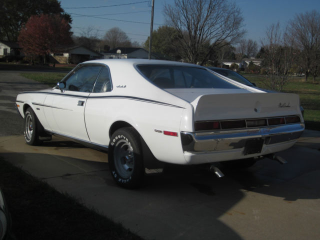 1970 Amc Javelin Sst Mark Donohue Edition For Sale Photos