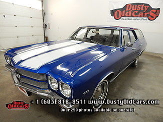 1970 Chevrolet Chevelle Runs Drives Great Interior Body VGood 307V8
