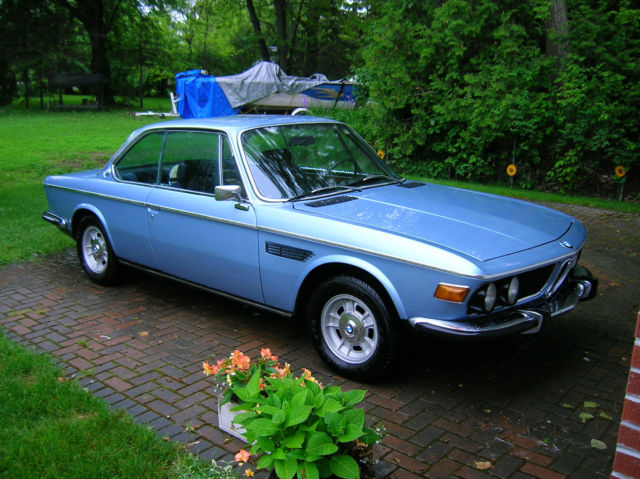 1970 Bmw 2800cs Project Vehicle Great Interior Amp Glass
