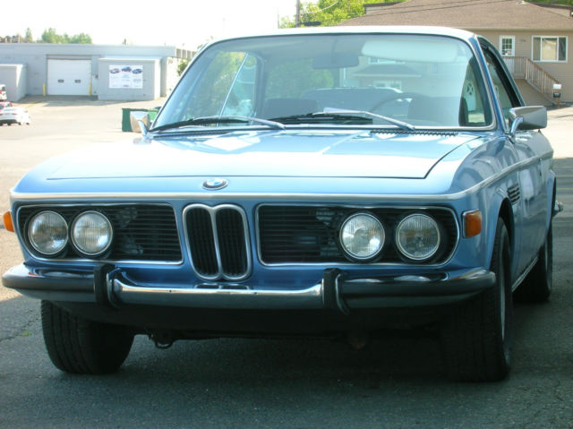 1970 Bmw 2800cs Project Vehicle Great Interior Amp Glass Running Well Rusted For Sale Photos