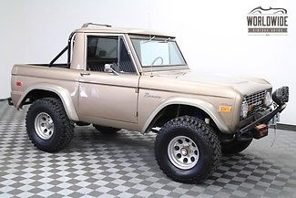 1970 Ford Bronco 77K ORIGINAL Miles. Restored. #s Matching