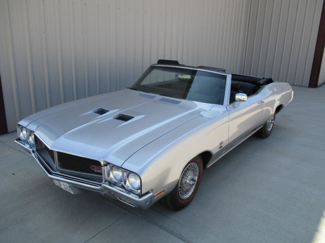 1970 Buick GS455 4 speed convertible