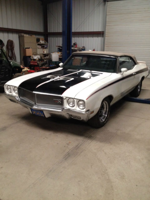 1970 Buick GS 455 Convertible GSX
