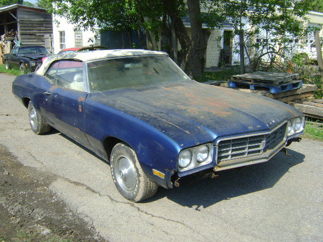 1970 Buick Skylark Convertible Project Car 350 Power Top