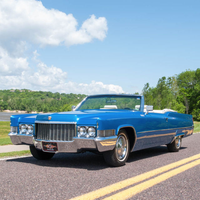1970 Cadillac Coupe Deville Convertible, Frame Off Nut