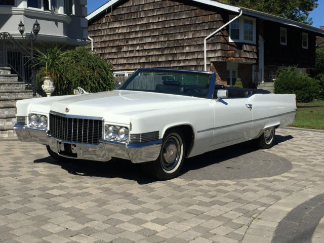 1970 Cadillac DeVille 1970 CADDY CONVERTIBLE STUNNING