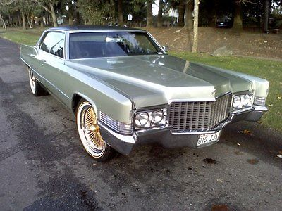 1970 Cadillac Deville Olive Green For Sale Photos