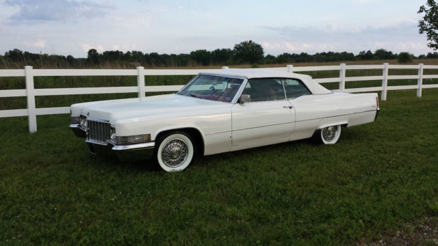 1970 cadillac deville base convertible 2 door 8 2l for sale photos technical specifications. Black Bedroom Furniture Sets. Home Design Ideas