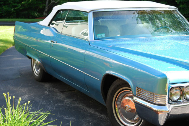 1970 cadillac deville convertible 2 door 7 7l for sale photos technical specifications. Black Bedroom Furniture Sets. Home Design Ideas
