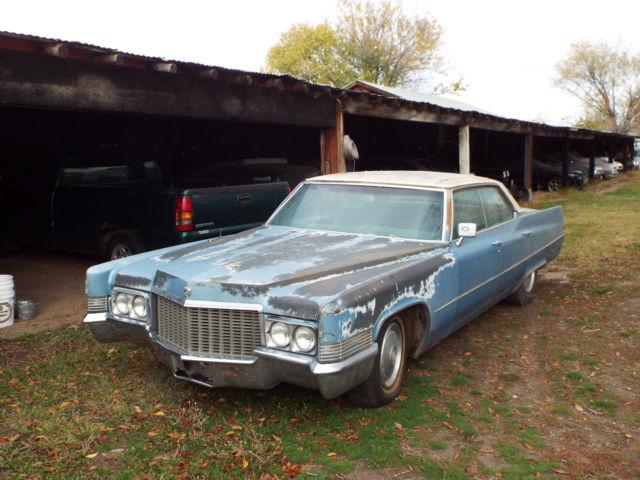 1970 cadillac sedan deville restoration project complete \u0026 runs for