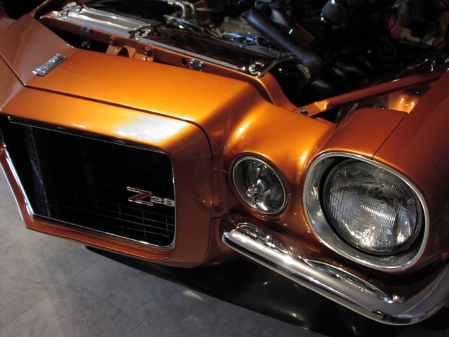 1970 Camaro Custom Show Pro Touring Copperhead Z For Sale