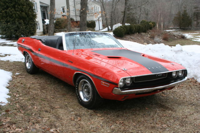 1970 Dodge Challenger R/T 6 pack convertible