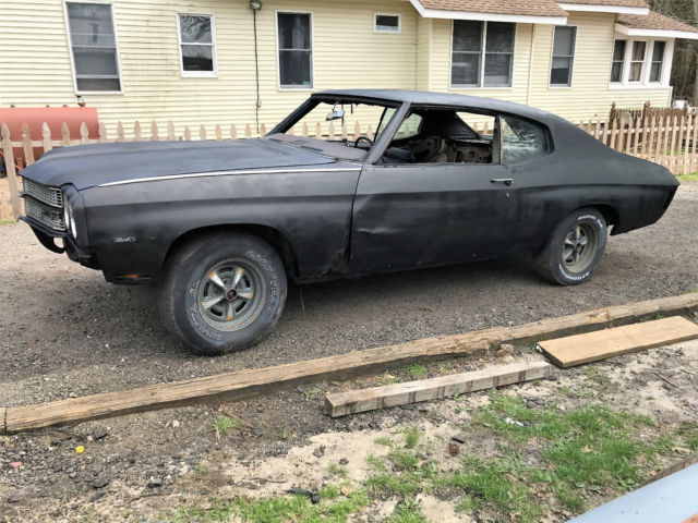 1970 Chevrolet Chevelle CHEVELLE PROJECT NR WINNER TAKES IT