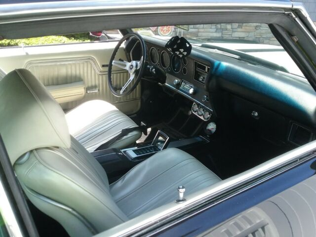 1970 Black Chevrolet SS Sedan with parchment interior