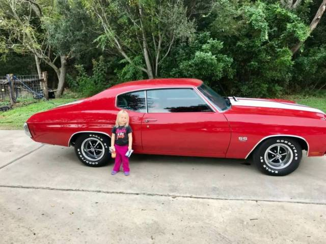 1970 Chevelle Ss - 396 - 4 Speed - Fully Restored