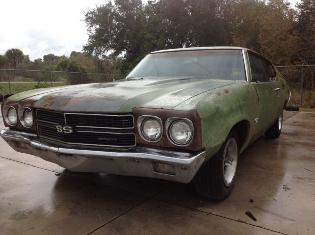1970 Chevrolet Chevelle #'s matching LS5 454