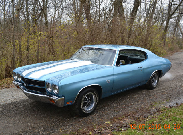 1970 Chevelle Ss 454 Solid And Straight Sharp New Factory