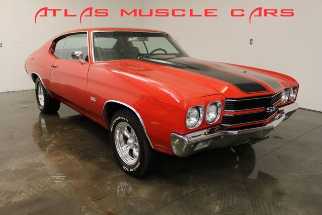 1970 Chevrolet Chevelle SS options