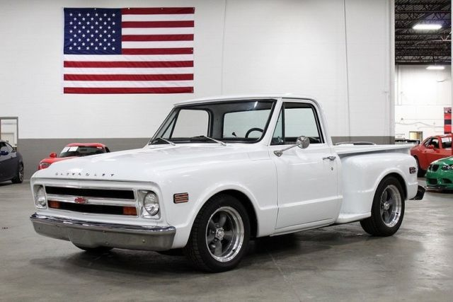 1970 Chevrolet C10  56135 Miles White Pickup Truck 350ci V8 TH350 3-Speed Automa