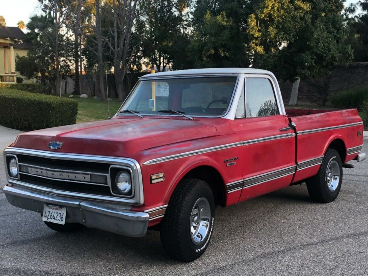 1970 Chevrolet C-10 CST 10 SHORT BED V8 350 Z84 CUSTOM SPORT TRUCK