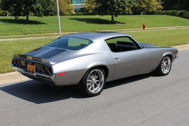 1970 Silver Chevrolet Camaro SS Pro-Touring LS -- with Black interior