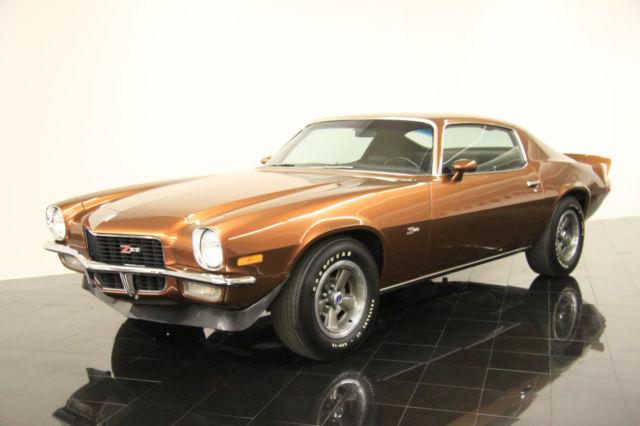 1970 Chevrolet Camaro Z 28 416 Per Month Bronze 350ci V8 For Sale Photos Technical