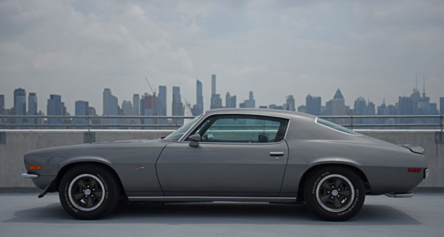 1970 Shadow Gray Chevrolet Camaro RS Z/28  Coupe with Black interior