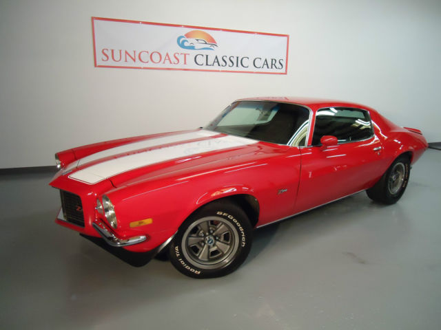 1970 Chevrolet Camaro Z28 Rs 4 Speed For Sale Photos