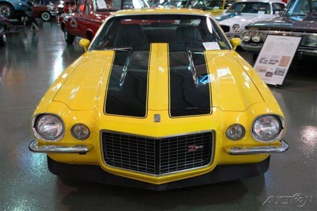 1970 CHEVROLET CAMARO Z28 YELLOW BLACK RALLY STRIPES 396 4