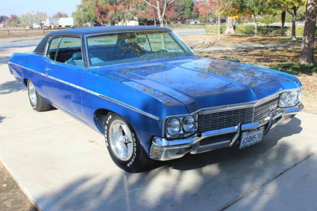 Cars For Sale In Fresno Ca >> 1970 Chevrolet Caprice 2 Door Hardtop 350/300 hp A/C Clean CA Car for sale: photos, technical ...