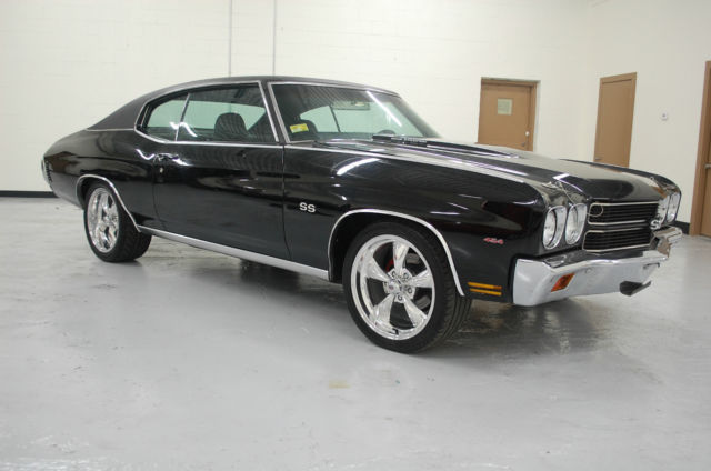 1970 Chevrolet Chevelle 454 Auto Black Wheels 12 Bolt SS Badges