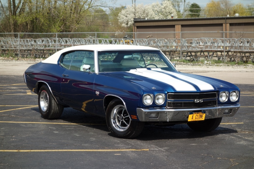 1970 Chevrolet Chevelle -NEW BUILD ONLY 420 MILES-FATHOM BLUE-NEW SS RECRE