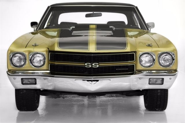 1970 Chevrolet Chevelle SS 396 Real SS,  Build Sheet