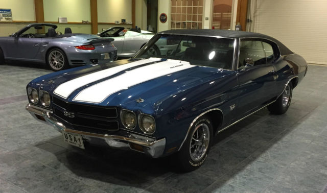 1970 Chevrolet Chevelle SS #'S MATCHING 396 FAC A/C