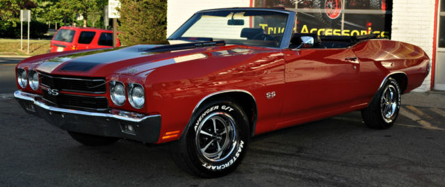 1970 Chevrolet Chevelle SS Convertible LS6 Restomod MUST SELL! NO RESERVE!