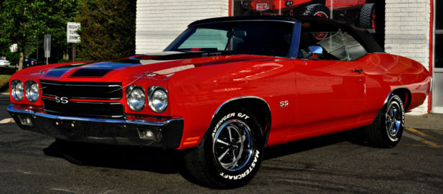 1970 Chevrolet Chevelle Ss Convertible 468 Restored Must