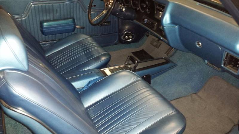 1970 Blue Chevrolet Chevelle SS PRO TOURING Convertible with Blue interior