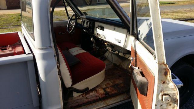 1970 chevrolet chevy c10 longbed stepside pickup truck