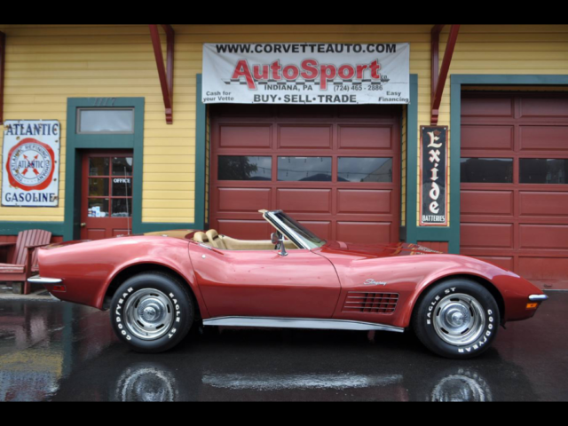 1970 Chevrolet Corvette 1970 350hp 4sp California Corvette Convertible!