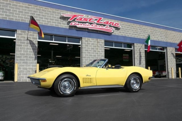 1970 Chevrolet Corvette Numbers Matching Factory A/C