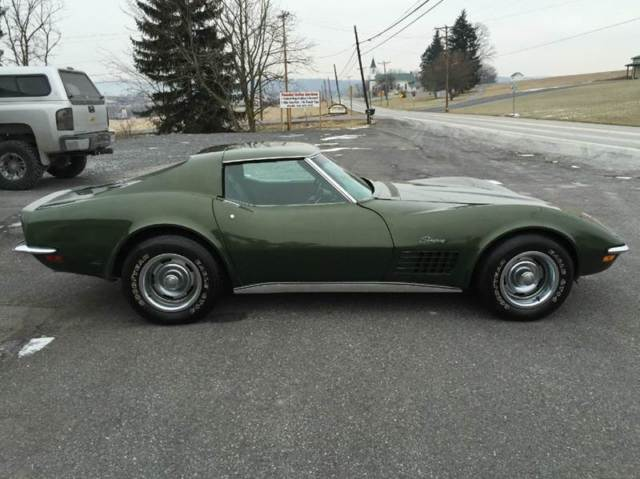 1970 Chevrolet Corvette #s Matching 2 Owner