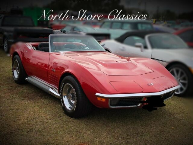 1970 Chevrolet Corvette -STINGRAY CONVERTIBLE-4 SPEED WITH SIDE PIPES- SEE