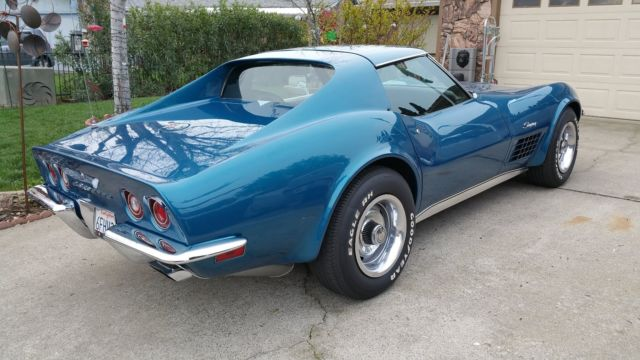 1970 chevrolet corvette stingray no reserve for sale photos technical specifications description. Black Bedroom Furniture Sets. Home Design Ideas