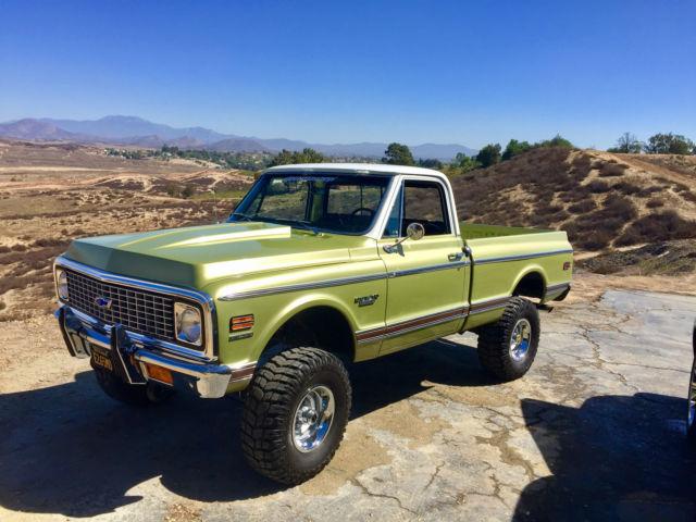 1970 chevrolet k10 4x4 custom short bed truck \
