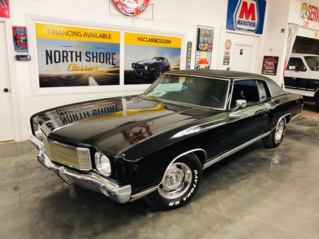 1970 Chevrolet Monte Carlo -TRIPLE BLACK NICE CONDITION 454 BIG BLOCK-