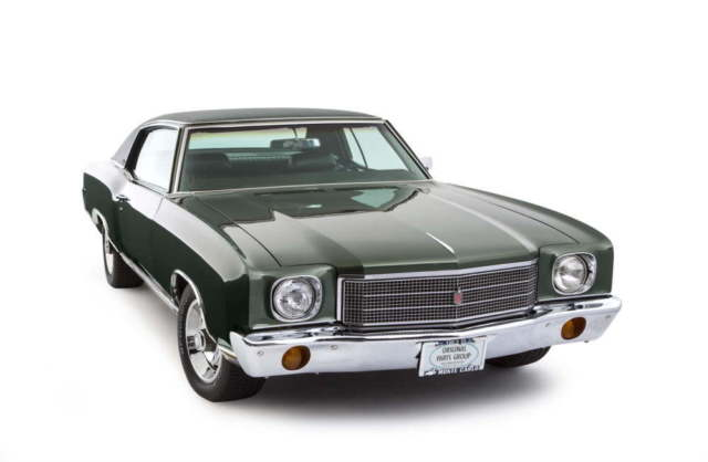 1970 Chevrolet Monte Carlo Real SS 454, Tilt AC,