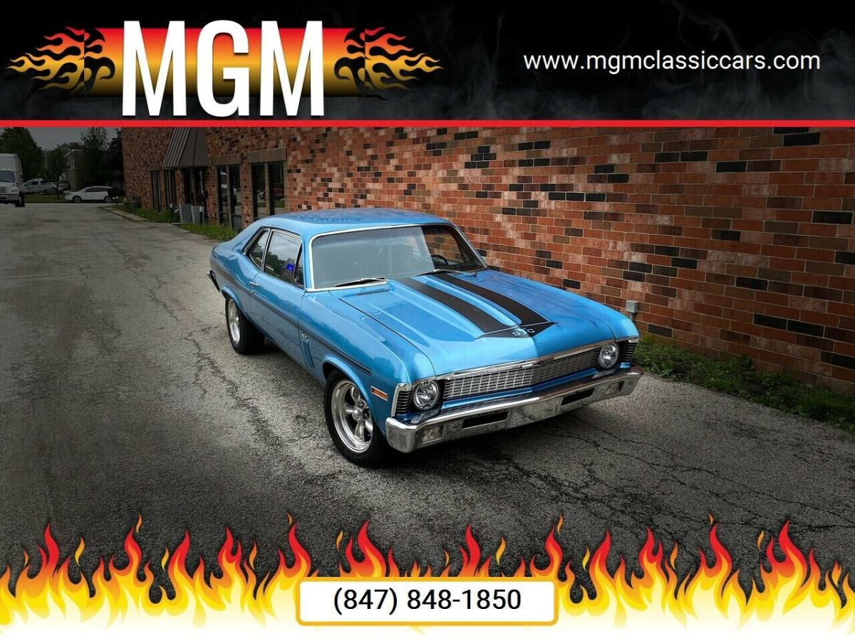 1970 Chevrolet Nova 406ci TH400 MUSCLE VINTAGE